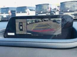 【 全方位カメラ 】上から見下ろしたように駐車が可能です。安心して縦列駐車も可能です♪