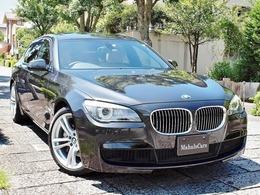 BMW 7シリーズ 740i Mスポーツパッケージ ベージュ革 サンルーフ 地デジTV キー2本