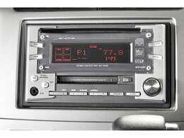 『CD/MDステレオ』装備。お好みのサウンドで楽しくドライブ♪ナビの取り付けもご相談してください♪三菱電機「MC-W500」