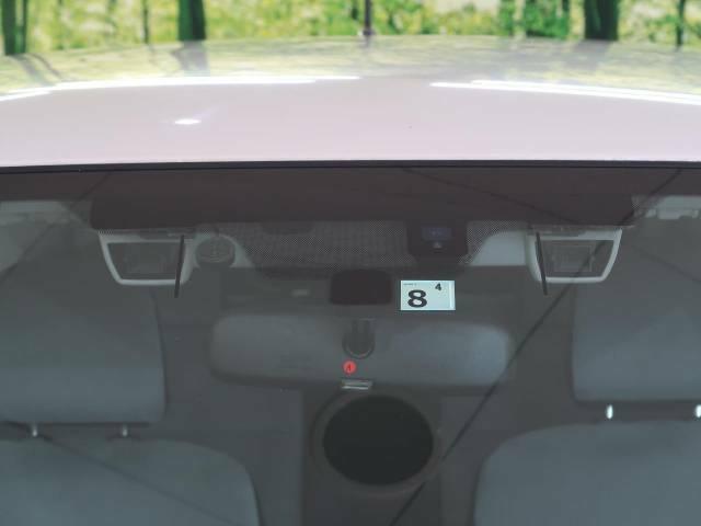 【アイサイト】前方の車両等を検知し、衝突しそうな時は警報で注意を促し、ブレーキを踏む力をサポート。ブレーキを踏めなかった場合は衝突被害軽減ブレーキが作動、衝突回避をサポートします。