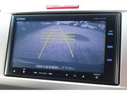 リアカメラシステム搭載♪車庫入れもサポートいたします。