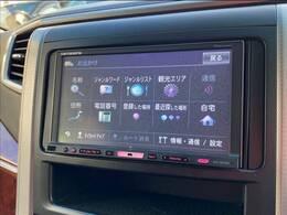 カロッツェリアフルセグナビ搭載。DVD再生・Bluetoothすべて対応。バックカメラ搭載ですので駐車も楽々です。