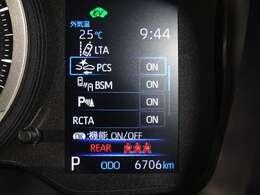 安心装備・トヨタセーフティーセンスを装備しています。