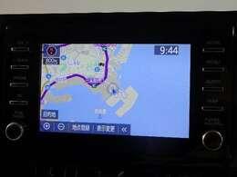 ☆純正・ディスプレイ+ナビキット&バックカメラ付です。トヨタの通信ナビT-connectです。