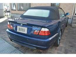 H15年 BMW3シリーズカブリオレ 330ci入庫致しました♪