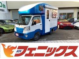 ダイハツ ハイゼットトラック JPスターキャンピング4WD 1オナ4WDソーラーR電動サイドオーニング