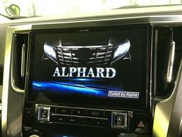 【ALPINE11型BIG-X!】この時代必需品のナビゲーションもちろん付いてます♪フルセグTV視聴にDVD再生・ブルートゥース接続での音楽再生も可能です。