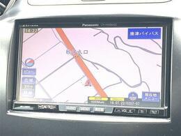 【ナビ】ナビ付き!知らない土地に行っても快適なドライブを楽しめます♪