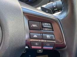 全車速追従機能付きクルーズコントロール装備。長距離での疲労感が格段に違います!