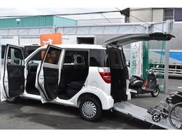 ホンダ ゼスト 660 G アルマス 車いす仕様車 リアシート付きタイプ 走行15273キロ 電動式車いす固定装置