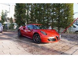アルファ ロメオ 4C ローンチエディション 世界限定車 左H 1オーナー車