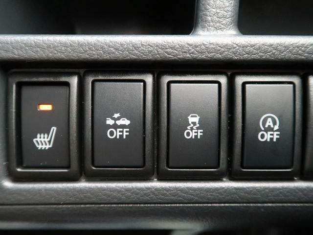 【シートヒーター】【衝突被害軽減システム】【横滑り防止装置】【アイドリングストップ】安全装備もバッチリ!快適なドライブをお楽しみください♪