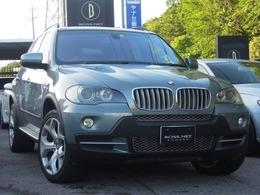 BMW X5 4.8i 4WD グリーン/茶革20AW9インチnavi 記録簿10枚