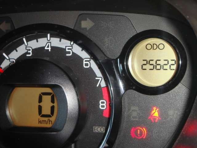25622キロです、エンジンもタイミングチェーン式なので永くお使いいただけます