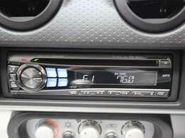 新車時に装備のアルパイン製CDデッキ