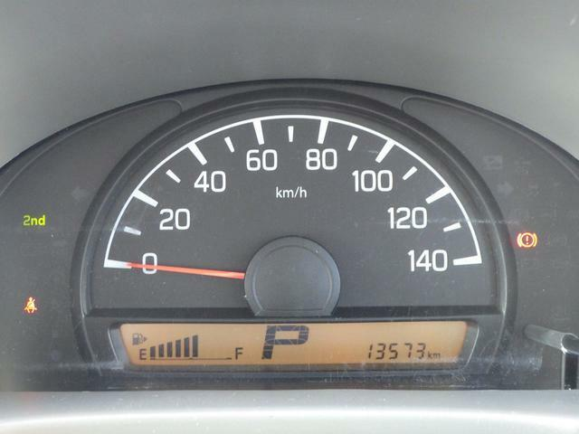 大きくて見やすいスピードメーターなので走行中も安心です!