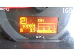 現在走行距離  63.780  KMです!