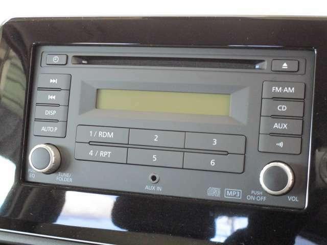 純正CDステレオ簡単操作です。