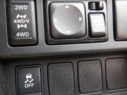 インテリジェント 4×4〈4WD MODEスイッチ付〉