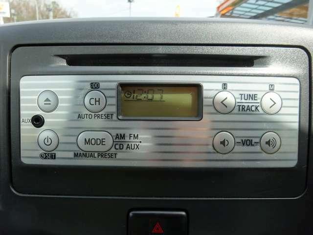 カーオーディオ CD再生可能