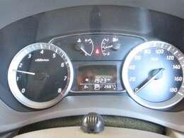 燃費情報などを知らせるインジケーター付き
