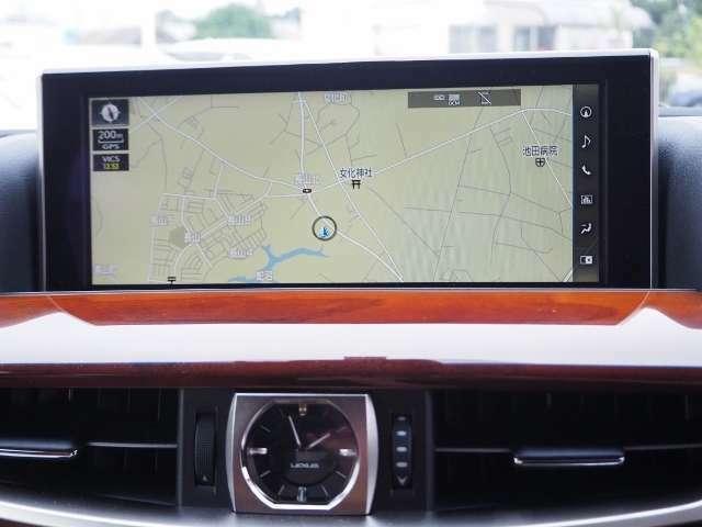 見やすい12.3インチワイドディスプレイを搭載したナビゲーションシステム♪ワイド画面に地図などをフルスクリーンで表示出来ます。