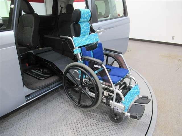 専用車椅子も付いております。