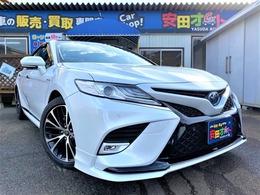 トヨタ カムリ 2.5 G レザーパッケージ TRDエアロ サンルーフ 黒革シート 柿本