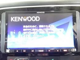 ケンウッドメモリナビ装備!!フルセグTV、Bluetooth接続、DVD再生可能です!!