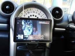 【ココがオススメ !!】 渋滞時や待ち合わせ時に重宝するのですよねぇ♪ 嬉しい『テレビ』も装備ですよ♪