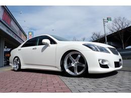 トヨタ クラウンアスリート 2.5 ナビパッケージ TEINフルタップ車高調 新品20AWタイヤ