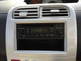 車内で音楽が楽しめます♪