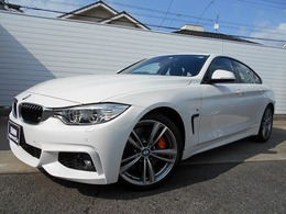 BMW 4シリーズグランクーペ 428i Mスポーツ 19AW黒革MブレーキLED禁煙1オナ認定中古車