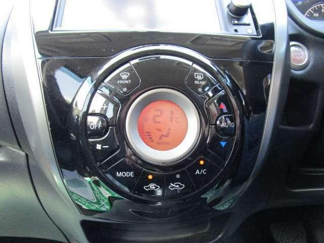 液晶表示タイプのオートエアコン!効きもバッチリ!