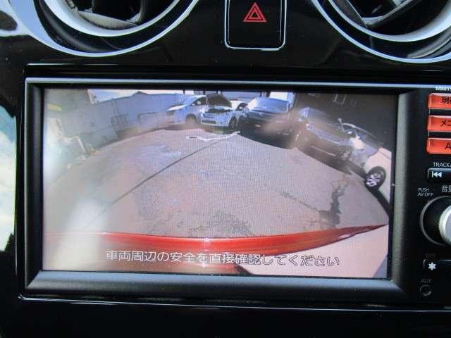 純正ナビ付!車庫入れも安心なバックモニター付きです!