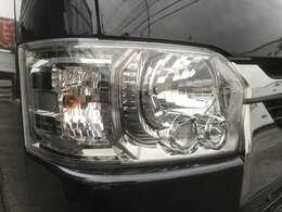 LEDヘッドランプ クリアスモーク加飾