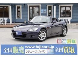ホンダ S2000 2.0 タイプV ガラススクリーン幌 VGS 黒革シート