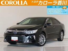 トヨタ カムリハイブリッド 2.5 Gパッケージ プレミアムブラック ハイブリット保証・純正メーカーメモリー