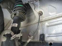 右フロントタイヤハウス内錆び腐食は有りません。