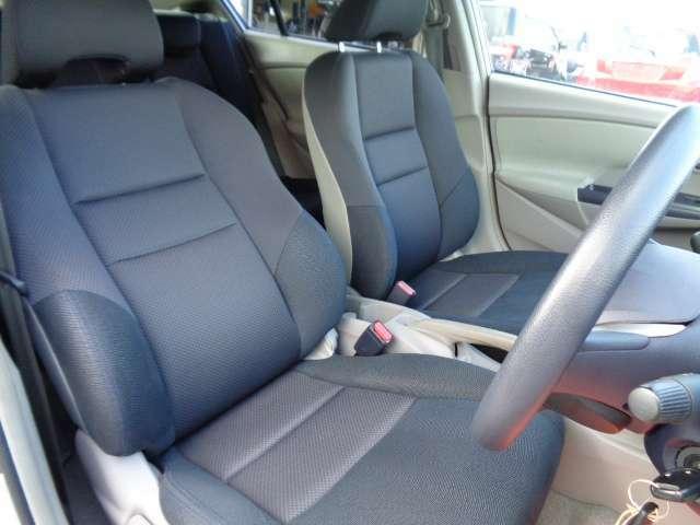 クッション良いフロントシート