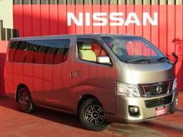 日産 NV350キャラバンワゴン 2.5 GX(オートスライドドア付) ロングボディ 低床 10人乗り アルパインナビ フルセグTV