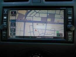 フルセグTV、Bluetooth接続可能、純正ディーラーオプションナビ搭載