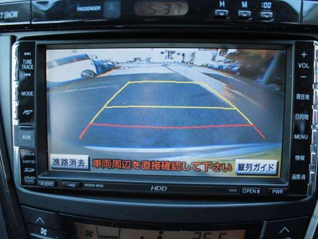 純正HDDナビ/CD/DVD/HDD録音/SDカード バックカメラも装備