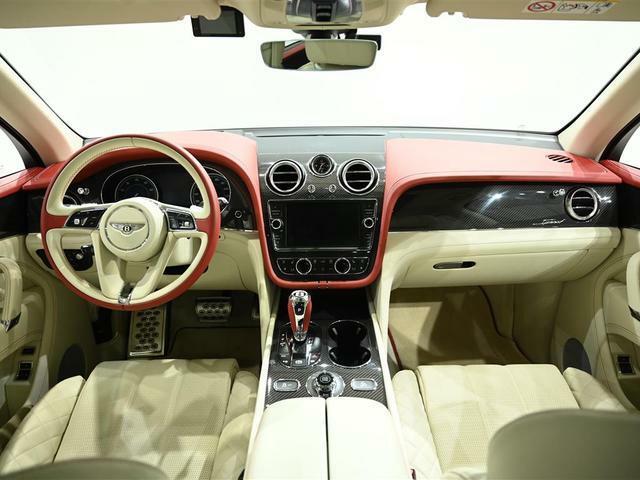 アルカンターラやカーボン等、スピードモデルに相応しくたくさん使用されています。