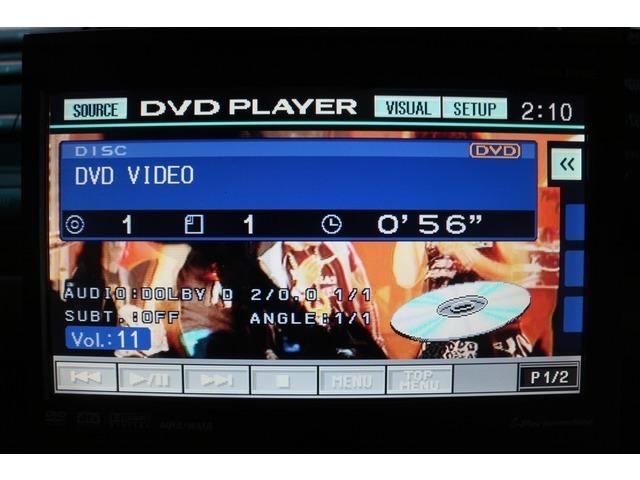 【 DVD再生 】CD・DVDディスクを再生できますので、お気に入りの映画や、音楽を車内で楽しむ事ができます。