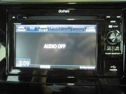 ワンセグTVやBluetooth接続も可能。