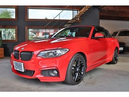 BMW 2シリーズカブリオレ 220i Mスポーツ ブラックキドニー 2本出しマフラー 18AW
