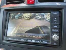 バックカメラで駐車をサポート