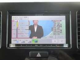 【ナビゲーション】メモリーナビ・ワンセグTV・CD再生が出来ます!別途8,000円で、走行中にもTVが映るようになり、ナビの操作も出来るようになりますヨ♪