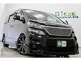 トヨタ ヴェルファイア 2.4 Z プラチナセレクション 4WD 4本出しマフラー LEDテール 車高調 20AW